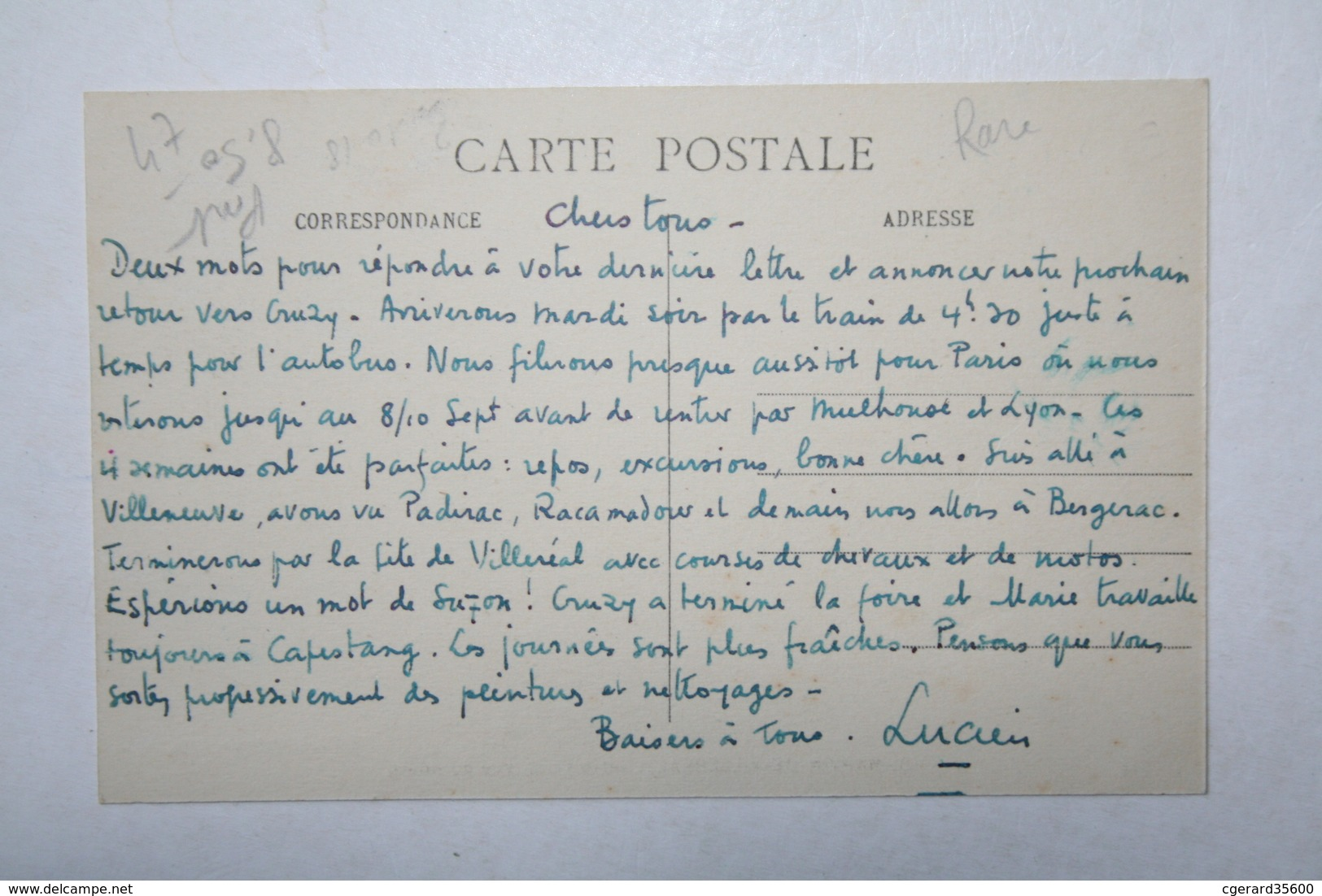 47 : St Martin De Villeréal - Vue Du Bourg - Autres Communes