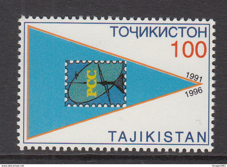 1996 Tajikistan Central Asia Postal Union Anniv. Set Of 1 MNH - Tadjikistan