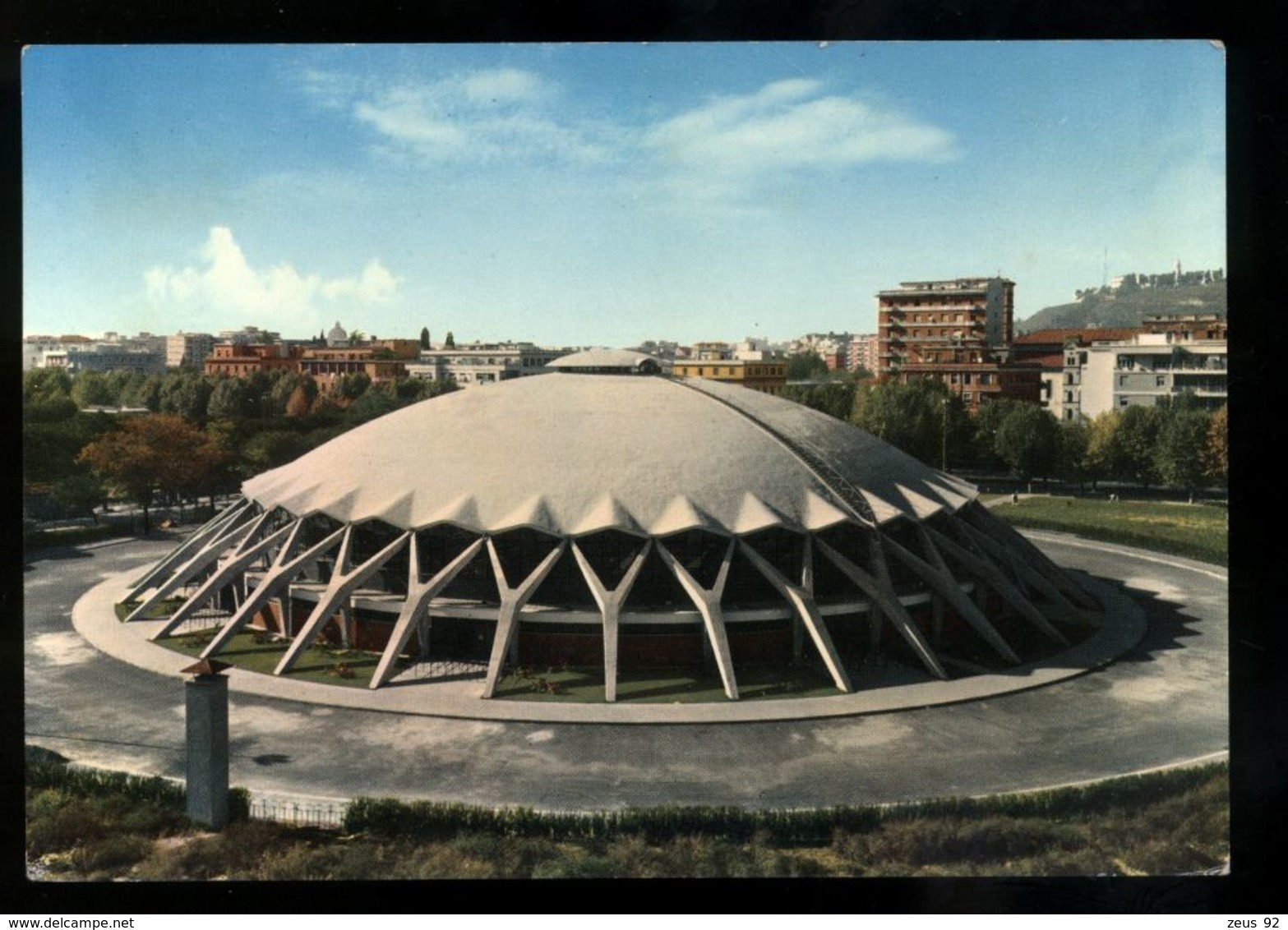 B7318 ROMA - FLAMINIO - PALAZZETTO DELLO SPORT - Estadios E Instalaciones Deportivas
