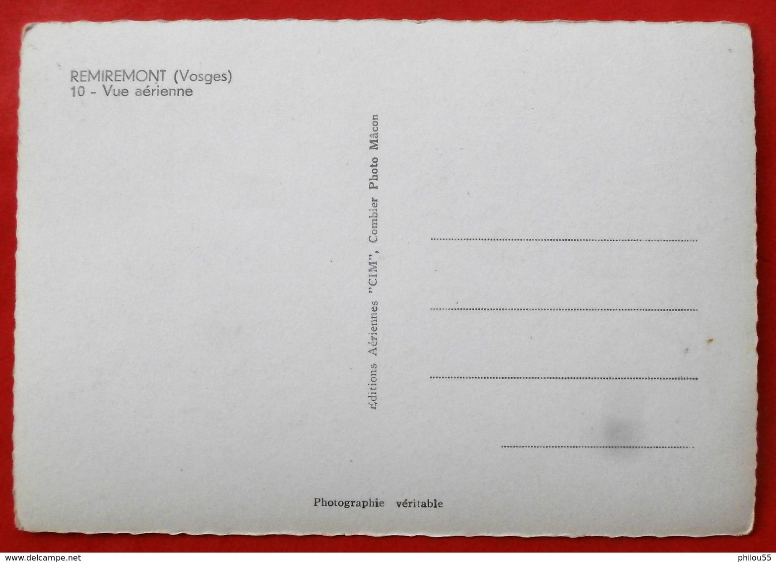 Cpsm 88 REMIREMONT  Vue Arerienne CIM - Remiremont