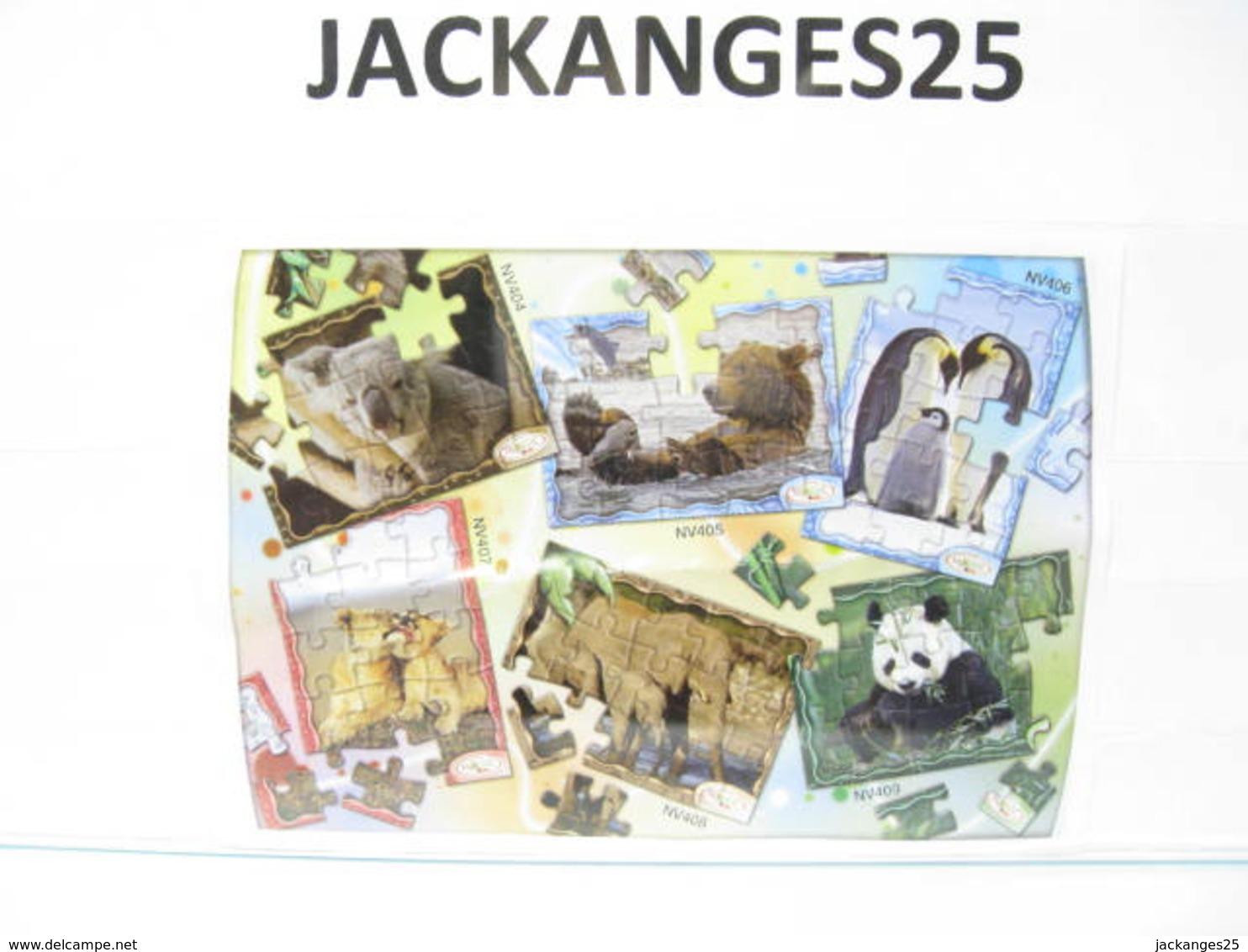 KINDER  PUZZLE  PANDA MPG NV 409 2009 / 2011 + BPZ - Puzzles