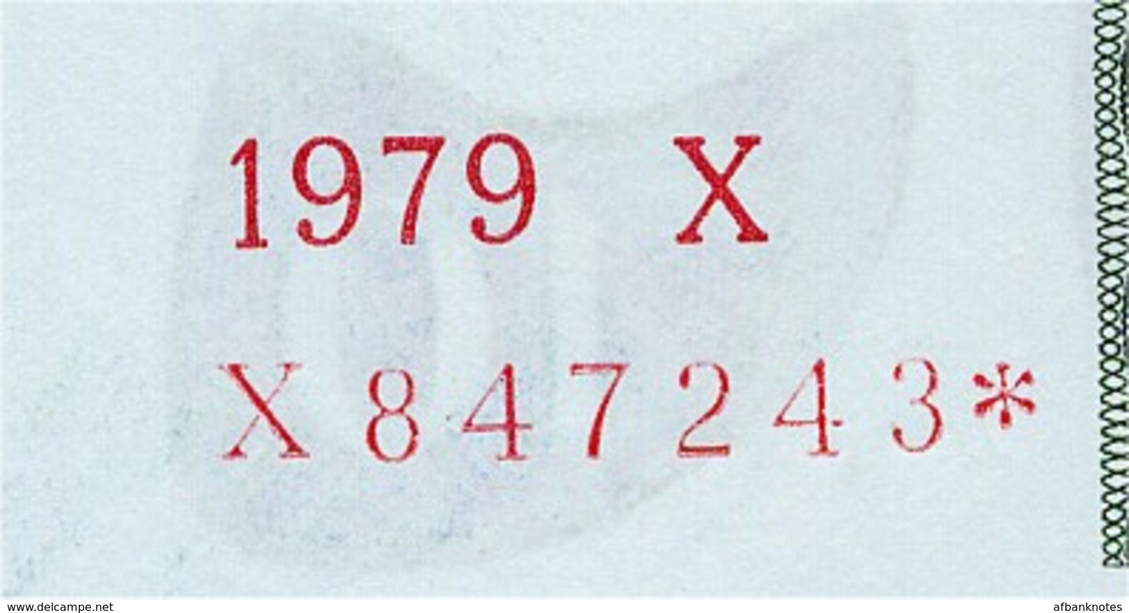 SWEDEN       10 Kronor       P-52r2       1979       UNC  [ REPLACEMENT ] - Suède