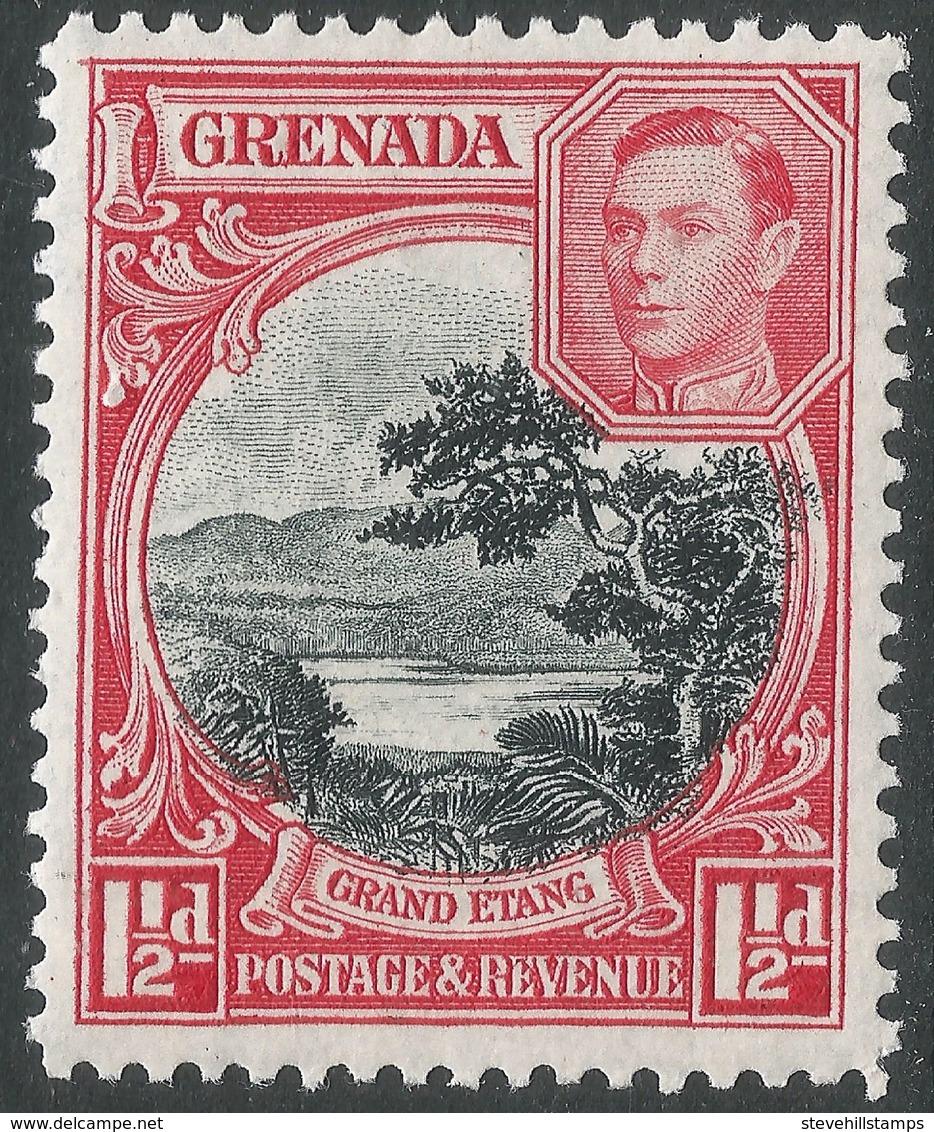Grenada. 1938-50 KGVI. 1½d MH. P12½ SG 155 - Grenada (...-1974)