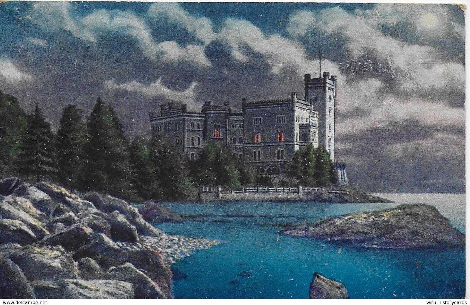 AK 0051  Trieste - Schloss Miramar / K. K. Österreich Um 1917 - Trieste (Triest)