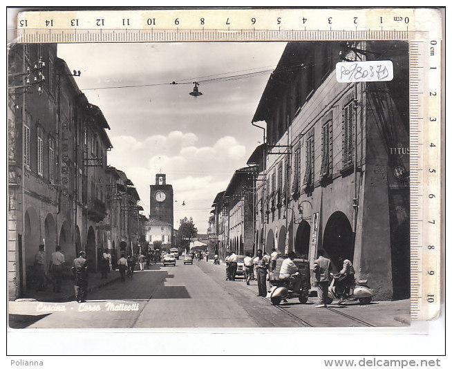 PO8037D# PISA - CASCINA - CORSO MATTEOTTI - MOTO VESPA  VG 1966 - Pisa