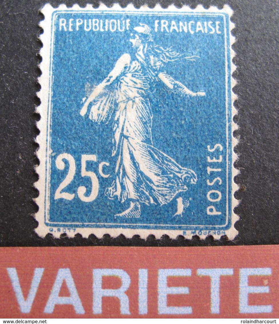 R1692/34 - 1907 - TYPE SEMEUSE - N°140r IMPRESSION RECTO-VERSO - TIMBRE NEUF(*) - Variétés Et Curiosités