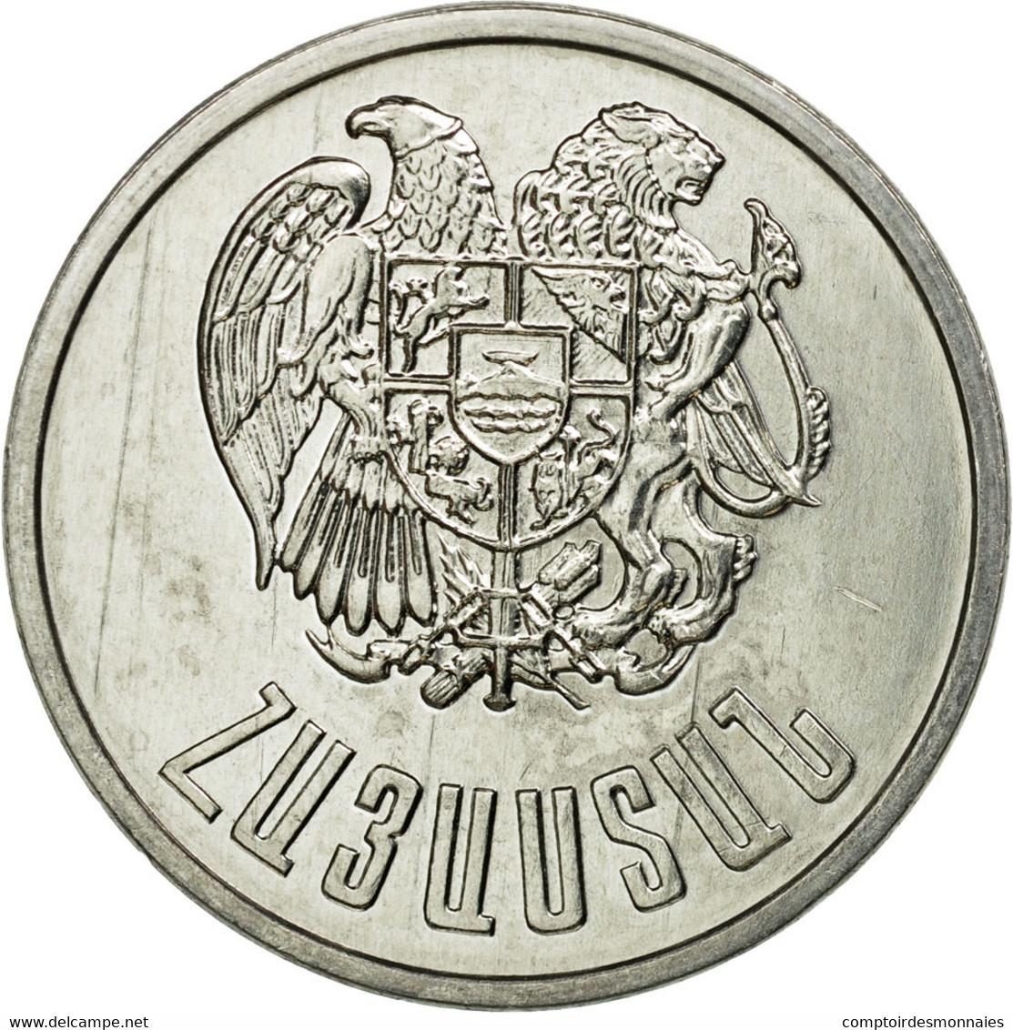 Monnaie, Armenia, 5 Dram, 1994, TTB, Aluminium, KM:56 - Arménie