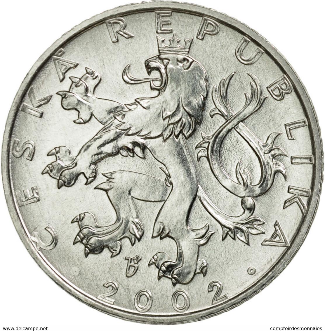 Monnaie, République Tchèque, 50 Haleru, 2002, Jablonec Nad Nisou, TTB - Tchéquie