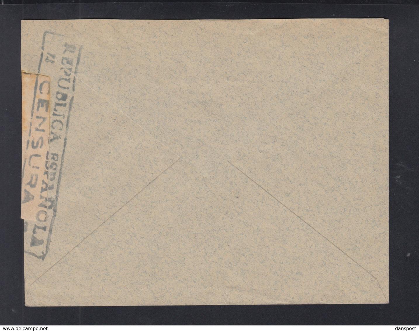 Spanien Espana Brief 1938 Alicante Nach Schweiz Zensur - 1931-Heute: 2. Rep. - ... Juan Carlos I