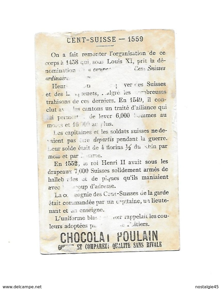 Chromo Litho Sicard Fin 19ème - Chevalier Banneret 1146 - Poulain