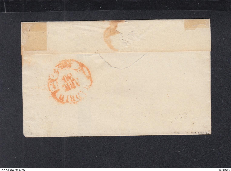 Spanien Espana Brief  Alcala Nach Madrid 1858 - 1850-68 Königreich: Isabella II.