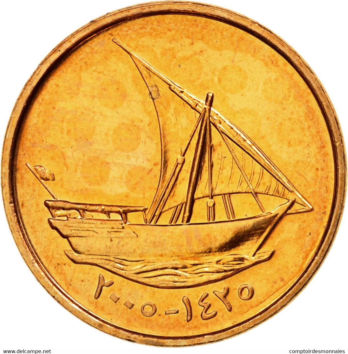 Monnaie, United Arab Emirates, 10 Fils, 2005, British Royal Mint, SUP, Bronze - Emirats Arabes Unis