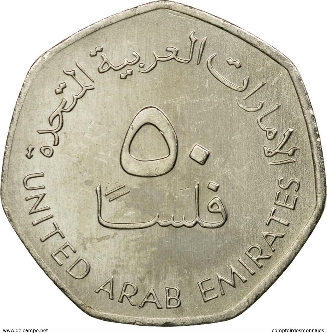 Monnaie, United Arab Emirates, 50 Fils, 1998, British Royal Mint, TTB - Emirats Arabes Unis