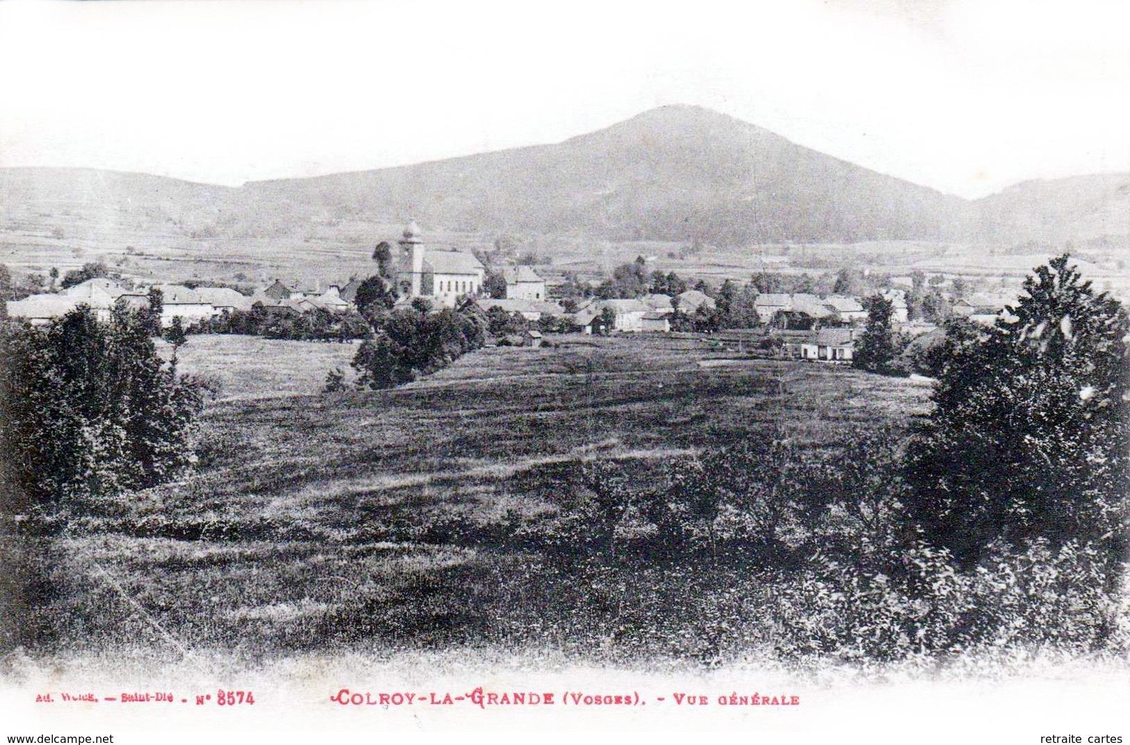COLROY-la-GRANDE - Le Village -  Très Beau Plan - Colroy La Grande