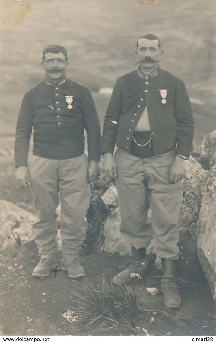 CARTE PHOTO MILITAIRE - 121 Eme (bab Moroudj Le 6 4 16) - Regiments