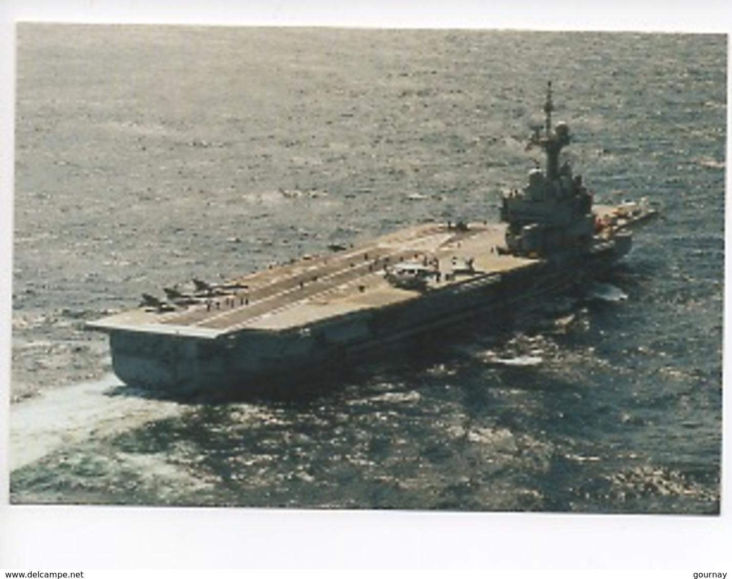 Porte Avions Charles De Gaulle - Photo Marine Nationale (en Haute Mer) - Warships