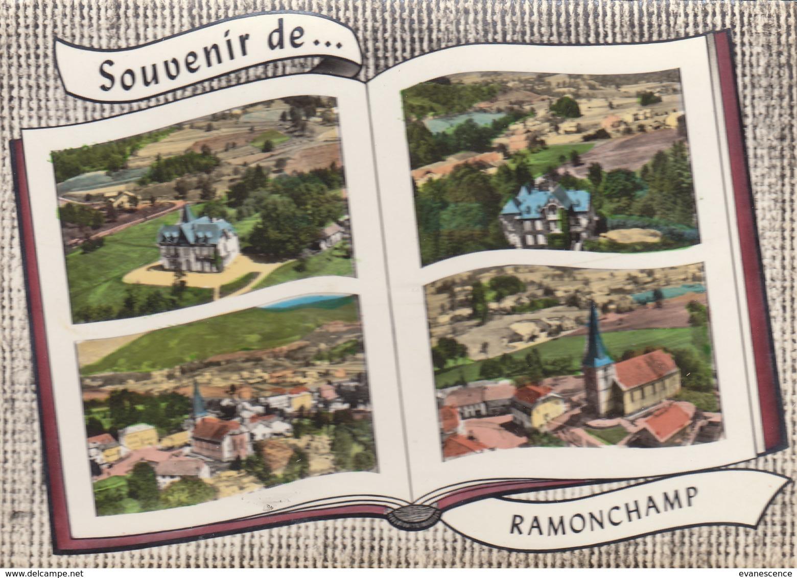 °°°   88 RAMONCHAMP / CARTE LIVRE SOUVENIR      °°°  ///  REF OCT.18  ///   N° 7488 - Other Municipalities