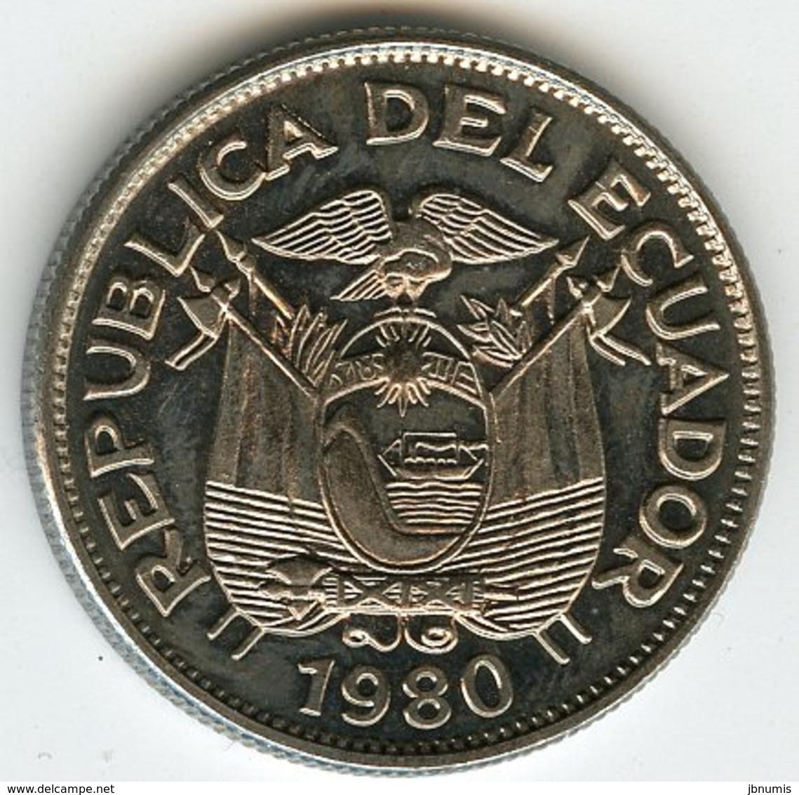 Equateur Ecuador 1 Sucre 1980 KM 78b - Equateur