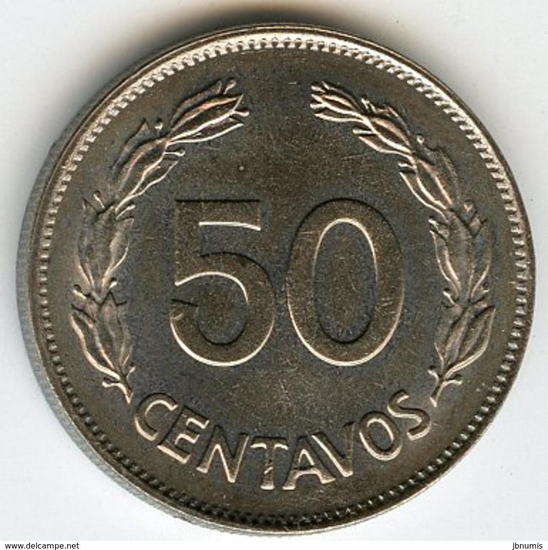 Equateur Ecuador 50 Centavos 1979 KM 81 - Equateur