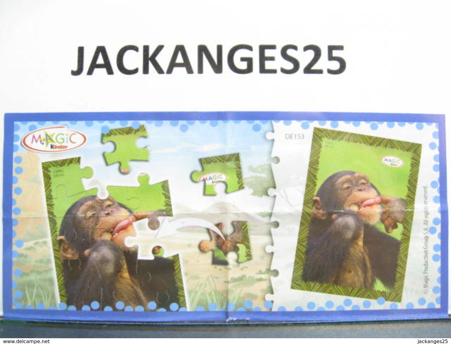 KINDER PUZZLE MIXART 2009 MPG DE 153  + BPZ - Puzzles