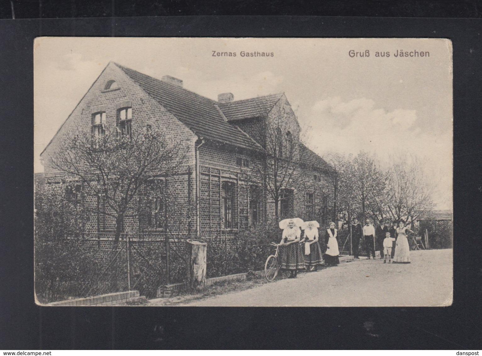 Dt. Reich AK Gruß Aus Jäschen Zernas Gasthaus - Deutschland