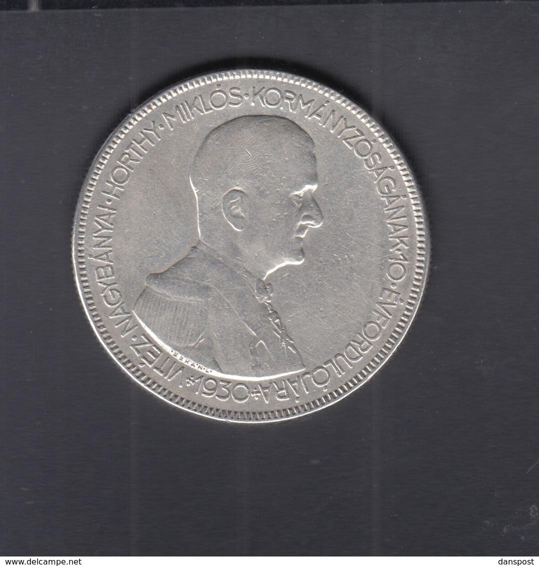 Hungary 5 Pengö 1930 Silver - Ungarn