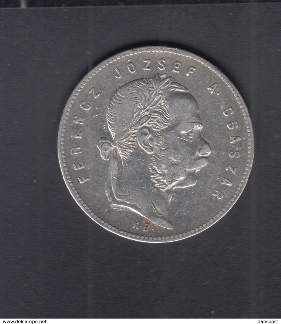 Hungary  1 Forint 1869 - Ungarn