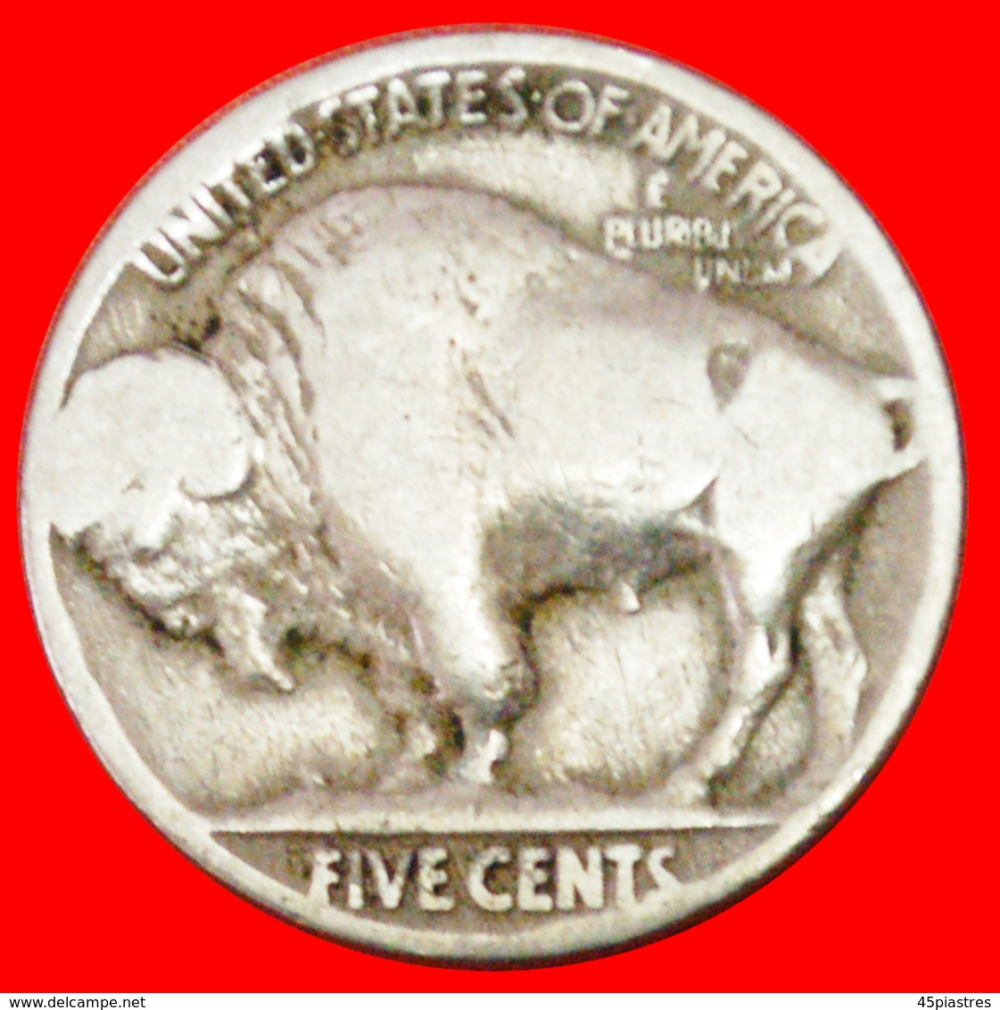 # INDIAN HEAD (1913-1938): USA ★ 5 CENTS 1926 BLACK DIAMOND (1893-1915)! LOW START ★ NO RESERVE! - Emissioni Federali