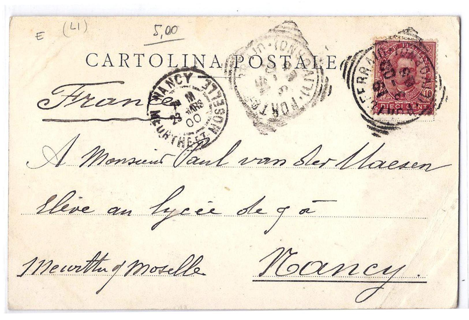 Isola D'Elba (Livorno) - Golfo Di Portoferraio. 1900 - Livorno
