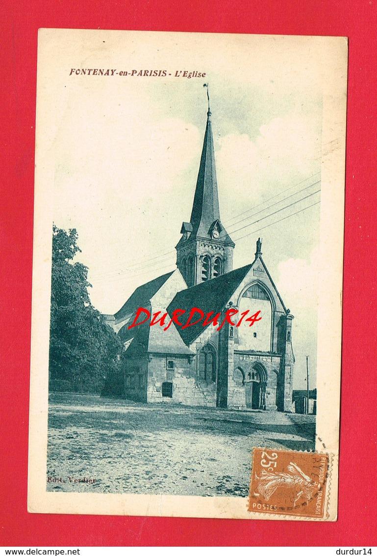 [95] Val D'Oise  > FONTENAY EN PARISIS L'Eglise - Autres Communes