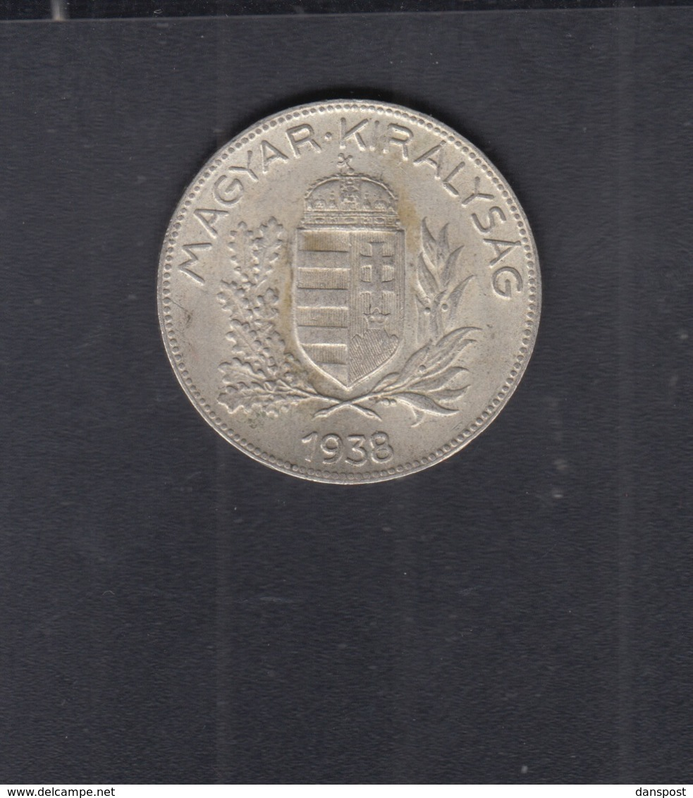 Hungary  1 Pengö 1938 - Ungarn