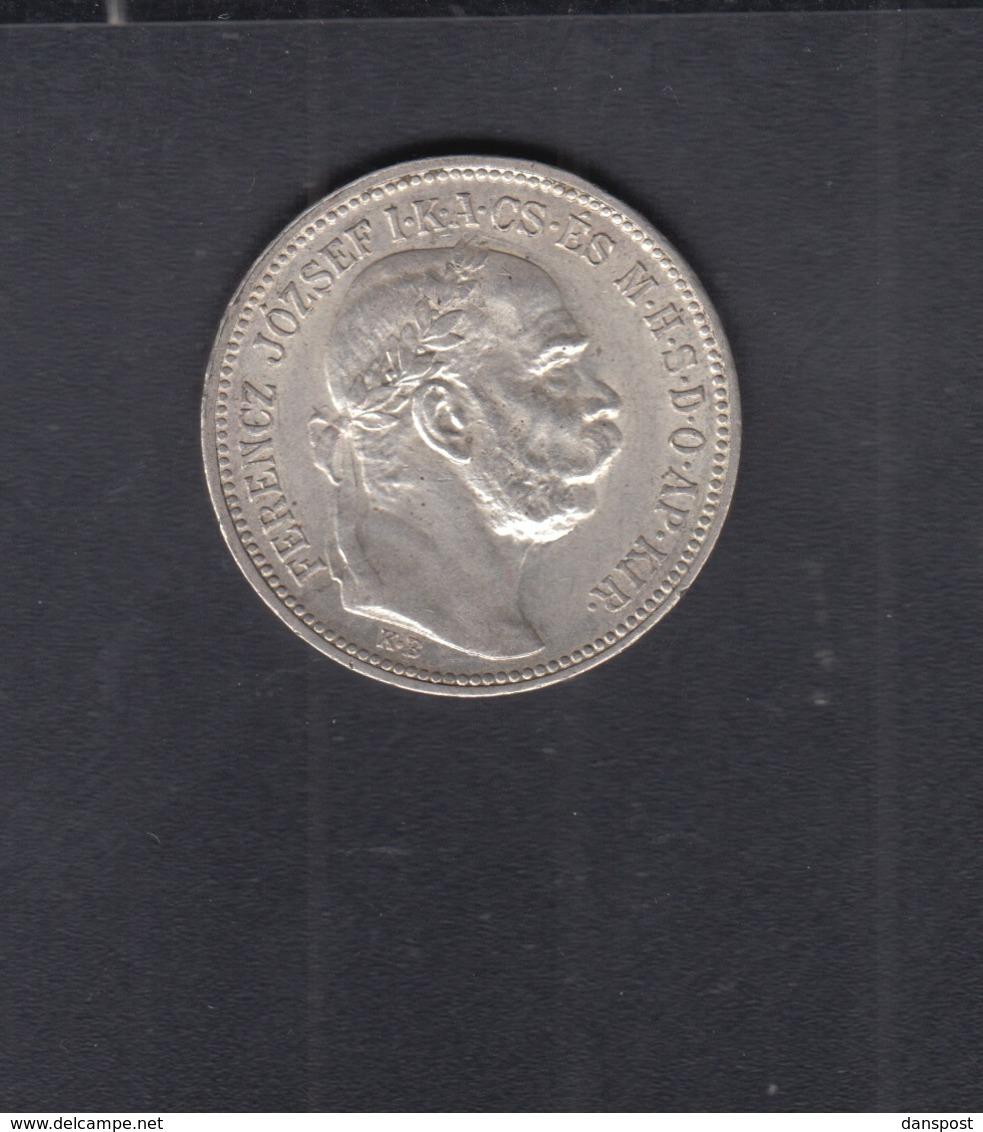 Hungary  1 Korona 1894 - Ungarn