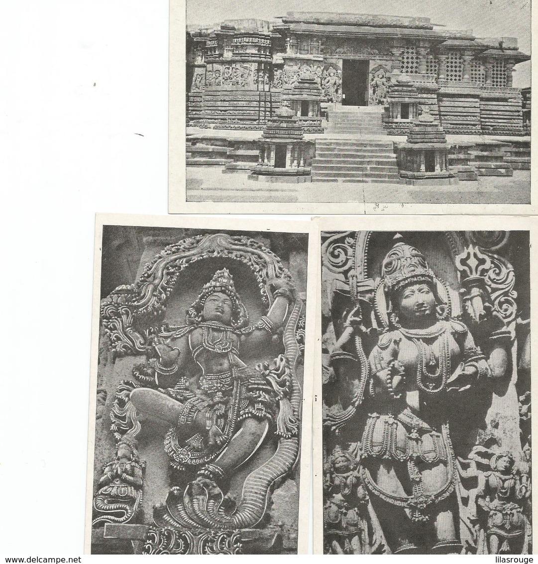 LOT 28 CARTES  ARCHITECTURE DE L INDE - 5 - 99 Cartes