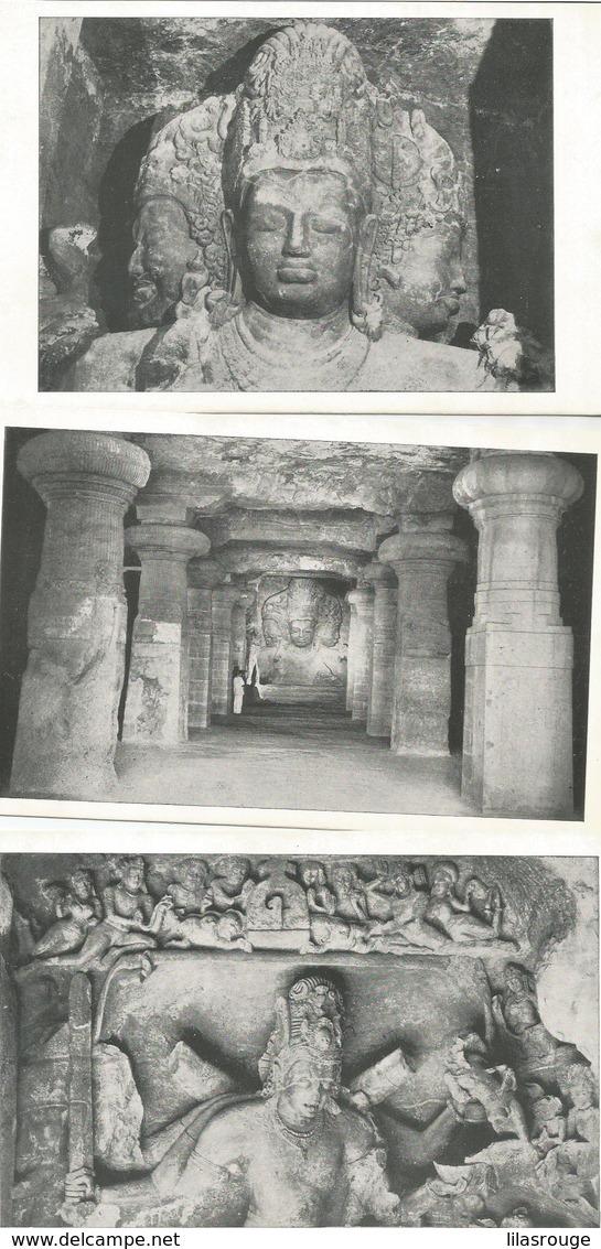 LOT 28 CARTES  ARCHITECTURE DE L INDE - 5 - 99 Postcards
