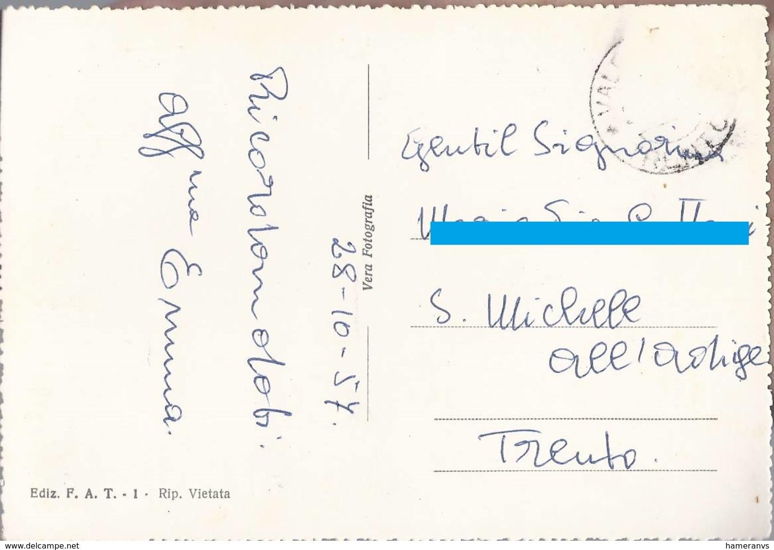 Saluti Da Valfloriana - Trento - H4693 - Trento