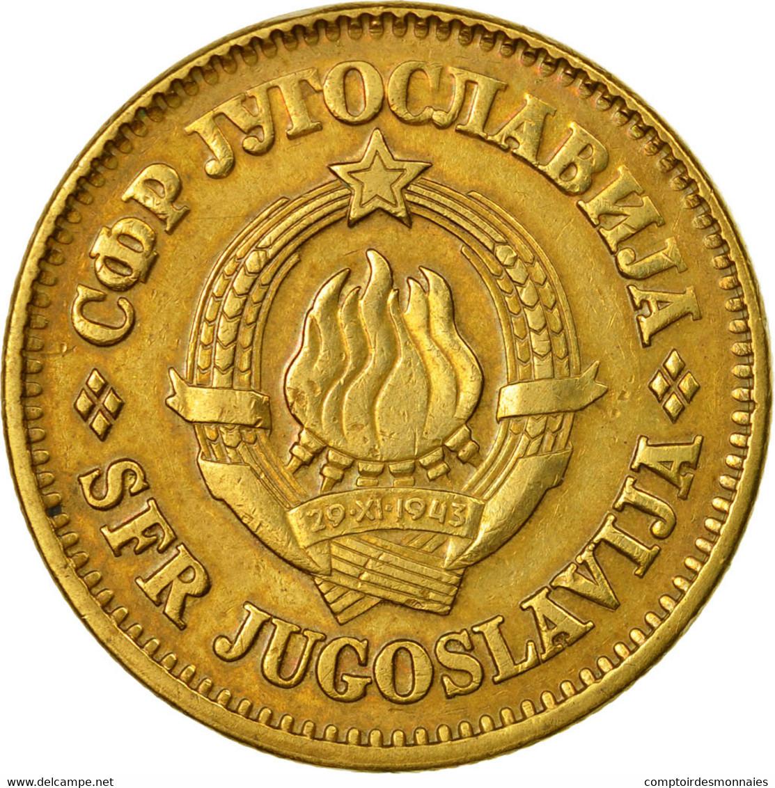 Monnaie, Yougoslavie, 50 Para, 1977, TTB+, Laiton, KM:46.1 - Joegoslavië