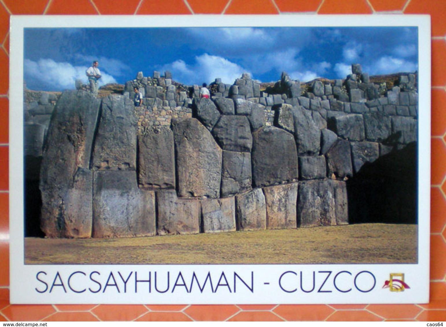CUZCO SACSAYHUAMAN  PERU   CARTOLINA - Perù