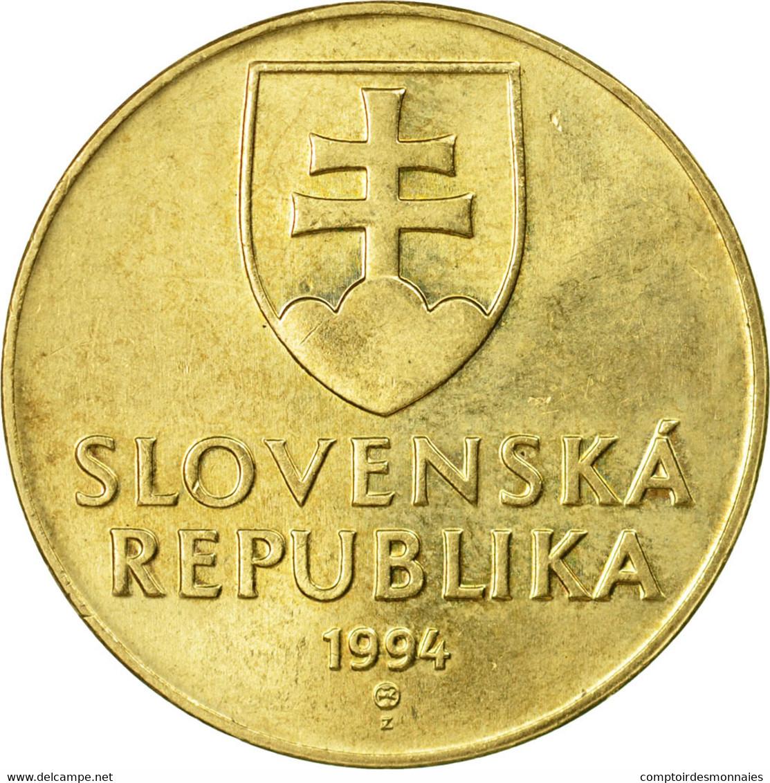 Monnaie, Slovaquie, 10 Koruna, 1994, TB+, Aluminum-Bronze, KM:11 - Slovaquie