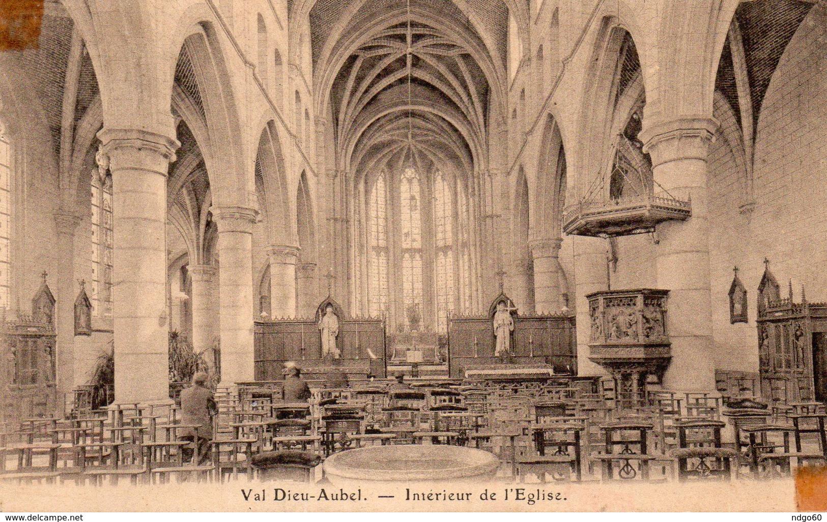 Val Dieu Aubel - Intérieur De L église - Aubel