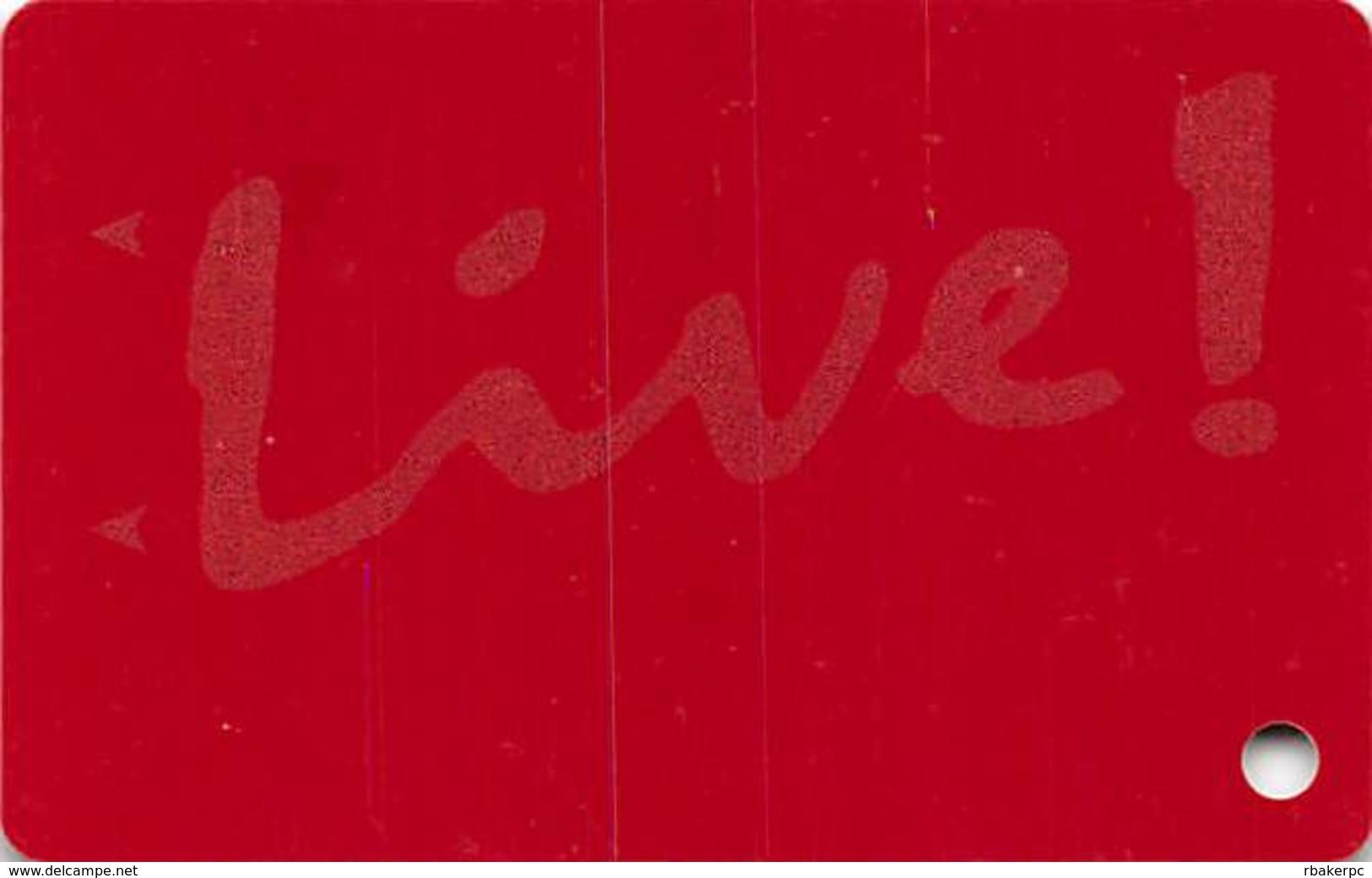 Maryland Live Casino - Hanover, MD - Slot Card - Casino Cards