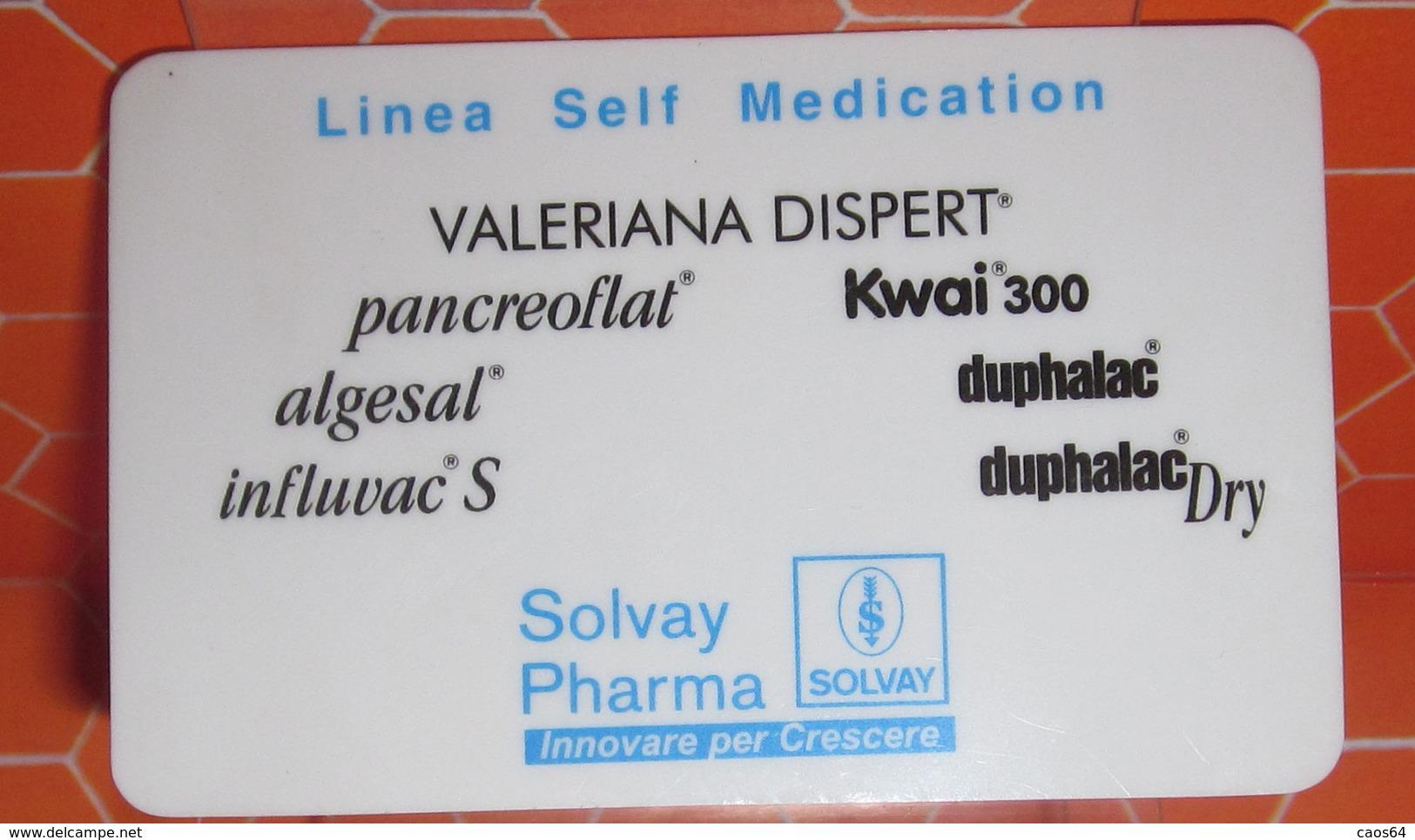 SOLVAY PHARMA 2000 PLASTIFICATO - Calendari