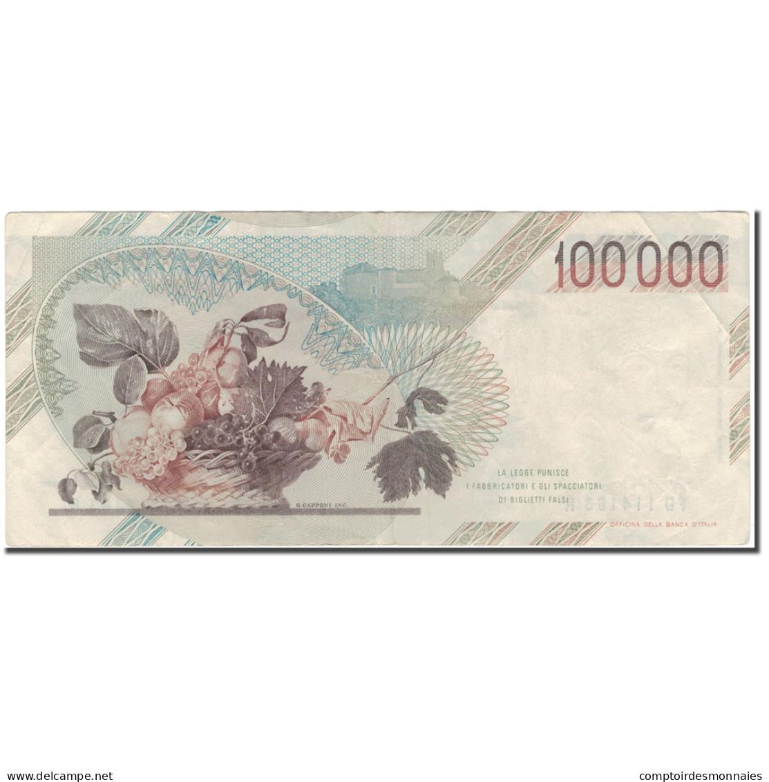 Billet, Italie, 100,000 Lire, 1983-09-01, KM:110b, TTB - [ 2] 1946-… : Repubblica