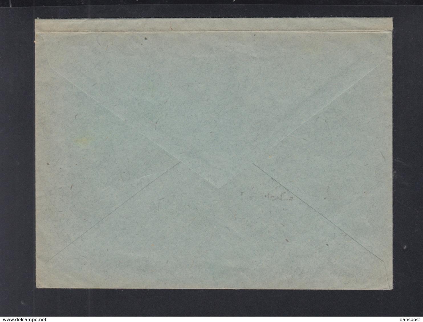 Dt. Reich ZD Auf Brief 1920 Nach Neu Isenburg - Zusammendrucke