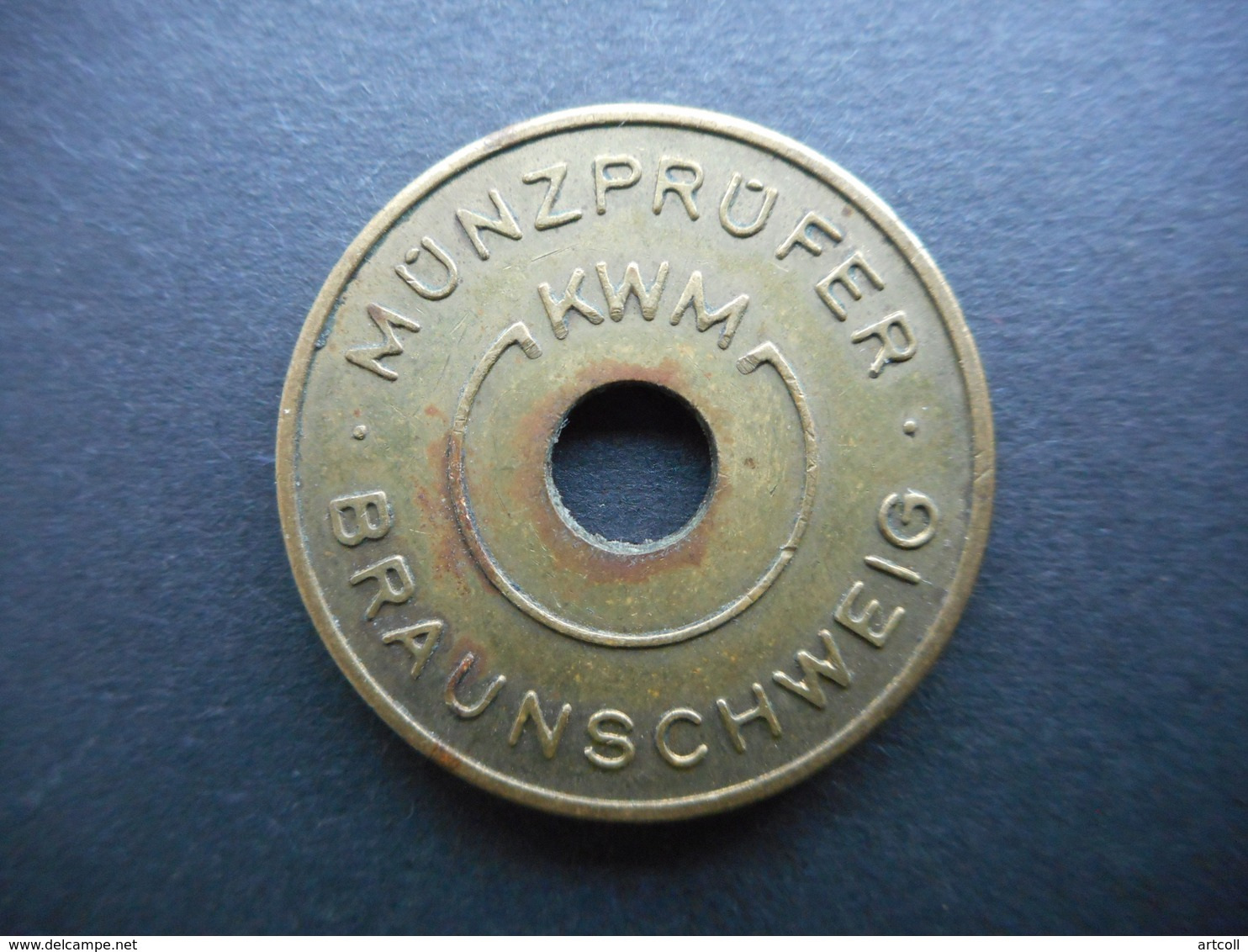 Germany. Token Karl W. Müller KG Münzprüfer - Allemagne