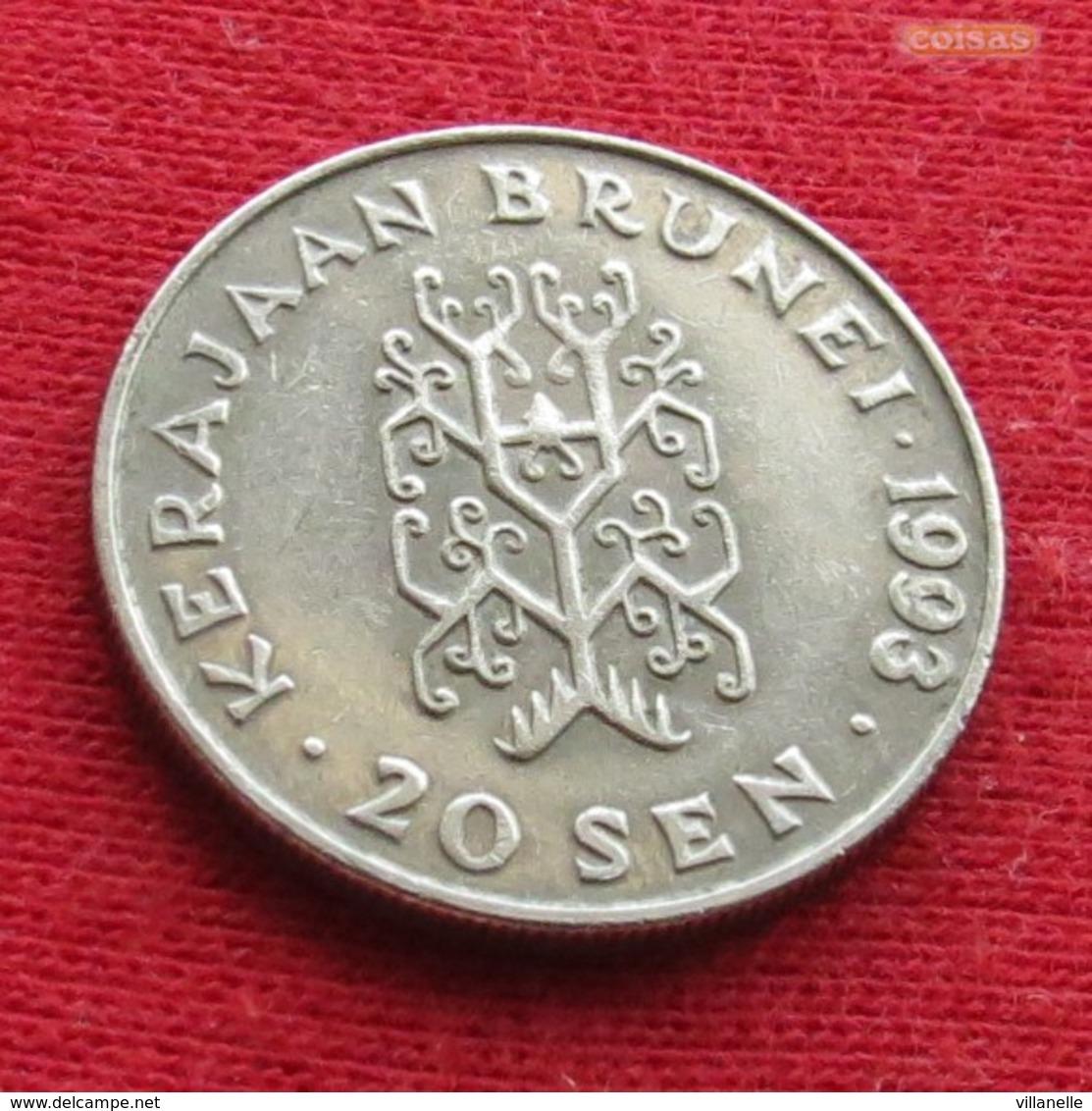 Brunei 20 Sen 1993 KM# 37 - Brunei