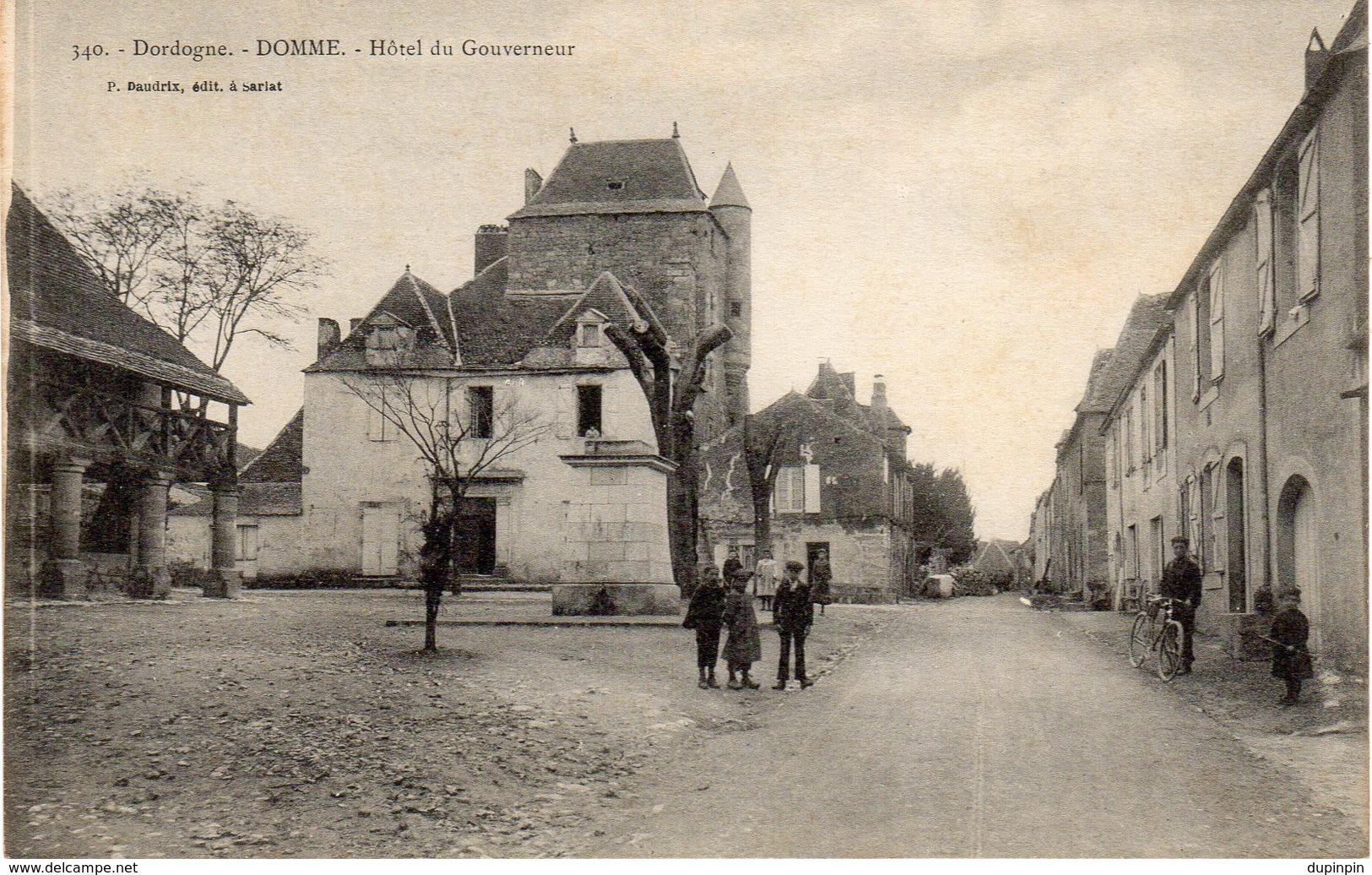 DOMME  -  Hôtel Du Gouverneur - Frankreich
