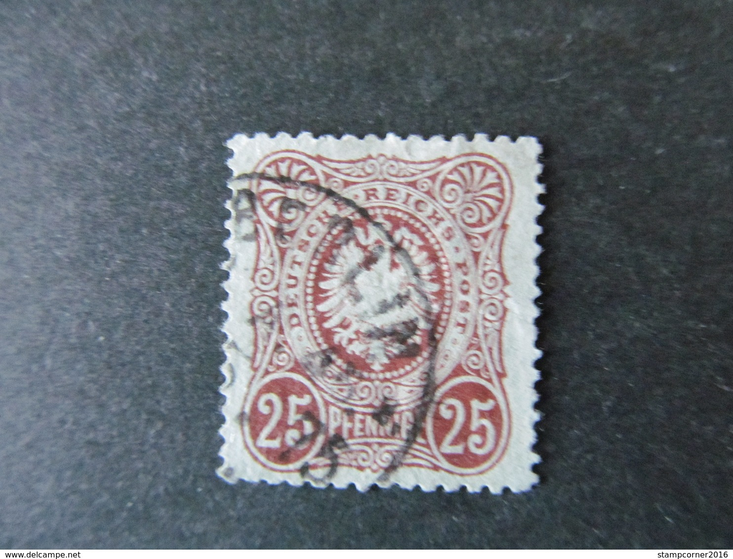 DR Nr.   35a, 1875, Gestempelt, BPP Geprüft BS - Deutschland