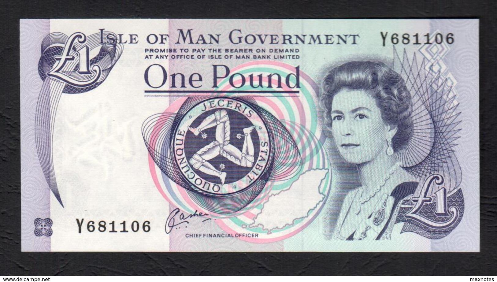 ISLE OF MAN  :   1 Pound - P40b - 1983 - UNC - Eiland Man/ Anglo-Normandische Eilanden
