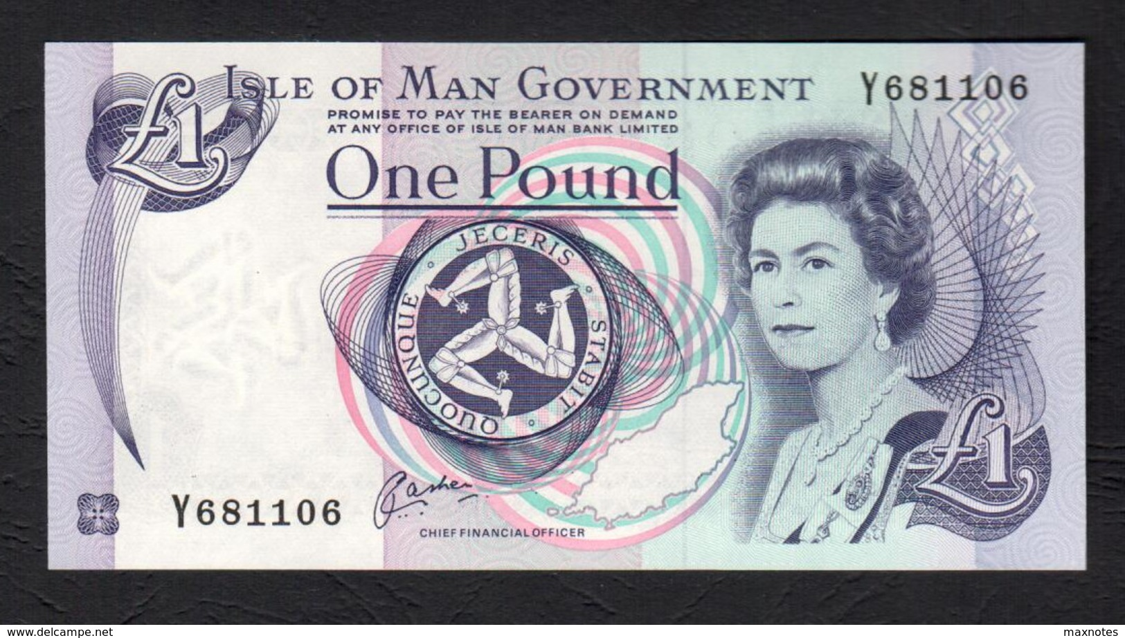 ISLE OF MAN  :   1 Pound - P40b - 1983 - UNC - [ 4] Isle Of Man / Channel Island