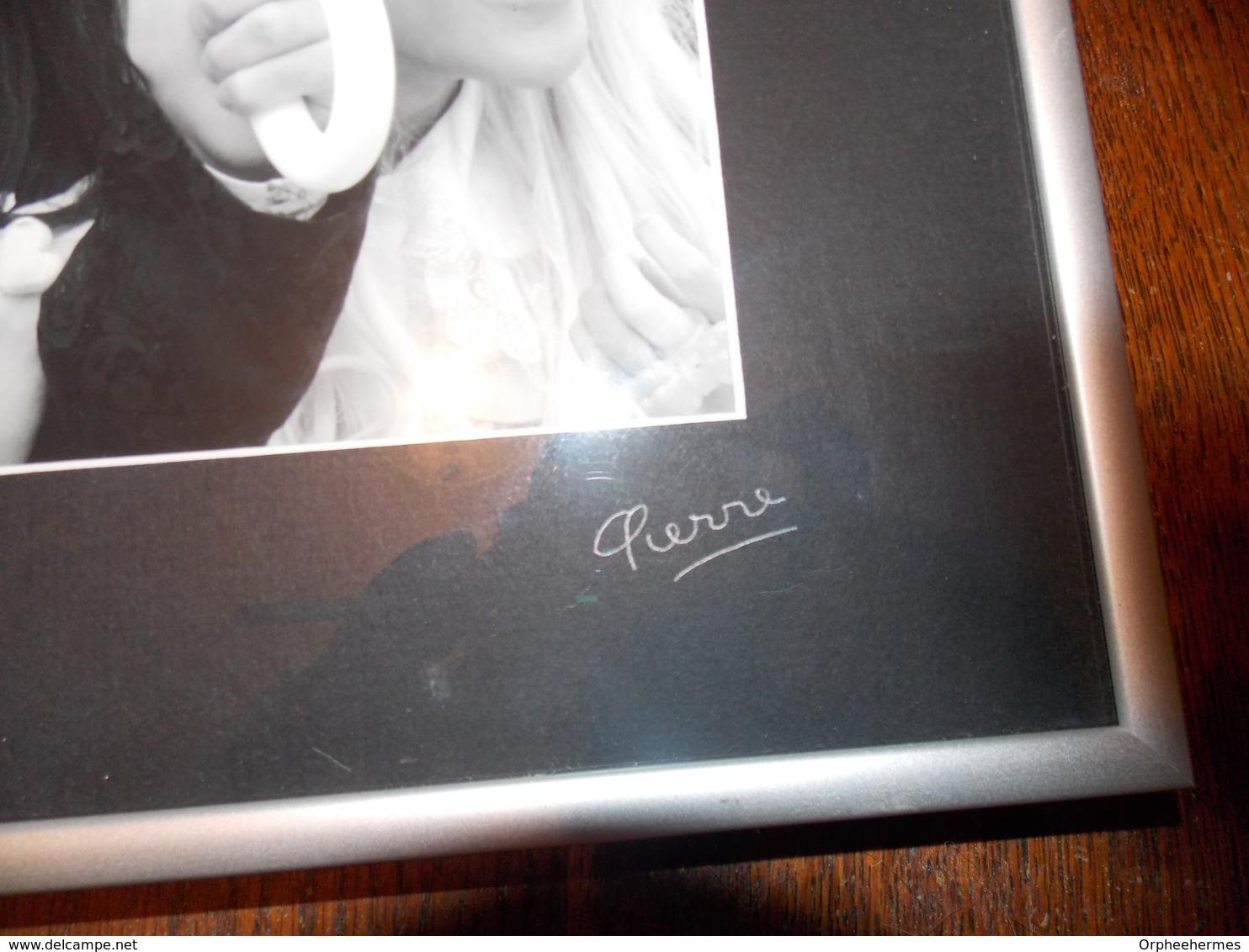 Photo Originale Argentique Signee PIERRE - Signed Photographs